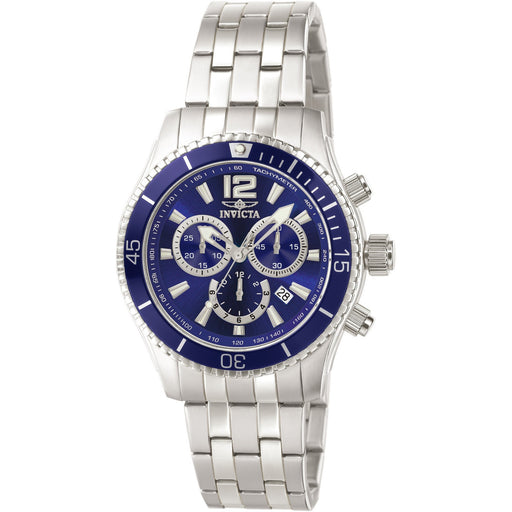 Invicta Men's 0620 Specialty Quartz Chronograph Blue Dial Watch