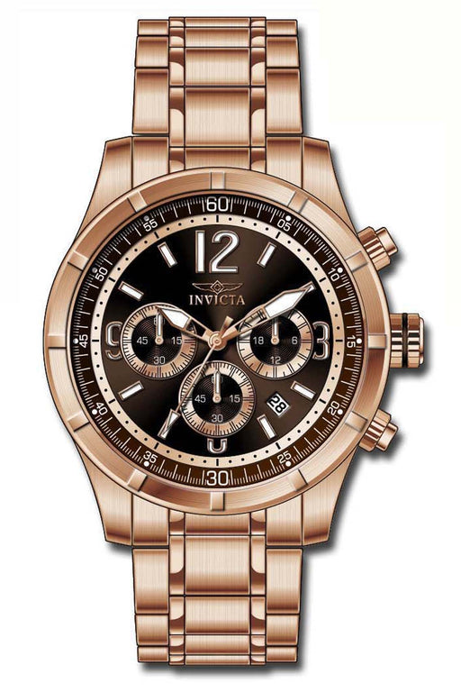 0eb60abcf Invicta Men's 11378 Specialty Quartz Chronograph Brown Dial Watch