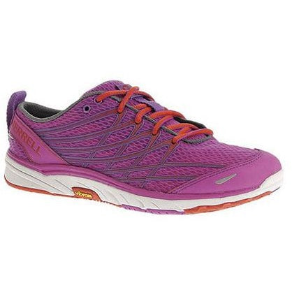 Merrell Women's Bare Access Arc 3 Barefoot Running Shoes, Purple/Grenadine
