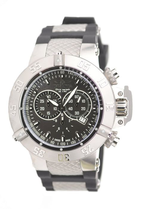 Invicta Men's 1380 Subaqua Quartz Chronograph Black Dial Watch