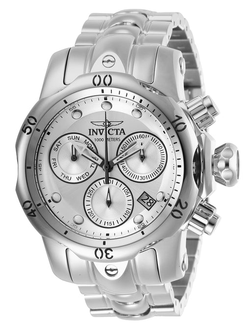 Invicta Boy 13898 Venom Quartz Chronograph Antique Silver Dial Watch