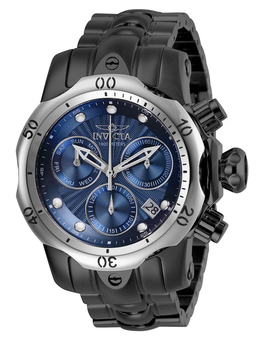 Invicta Boy 13907 Venom Quartz Chronograph Blue Dial Watch