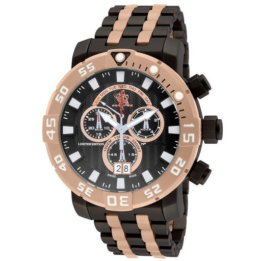 Invicta 53mm Sea Base Swiss Made Chronograph Titanium Bracelet 14257