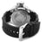 Invicta Men's Russian Diver Silver Dial Black Rubber Watch 1435