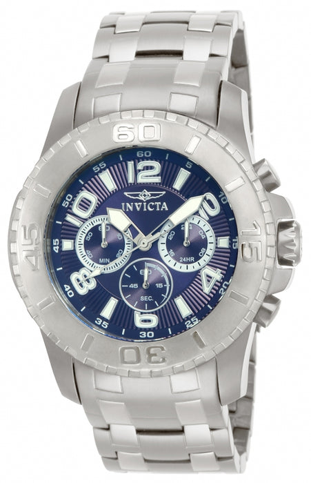 Invicta Men's 15020 Pro Diver Quartz Chronograph Blue Dial Watch