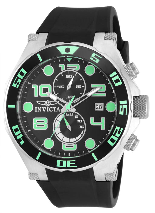 Invicta Men's 15394 Pro Diver Quartz Multifunction Black Dial Watch