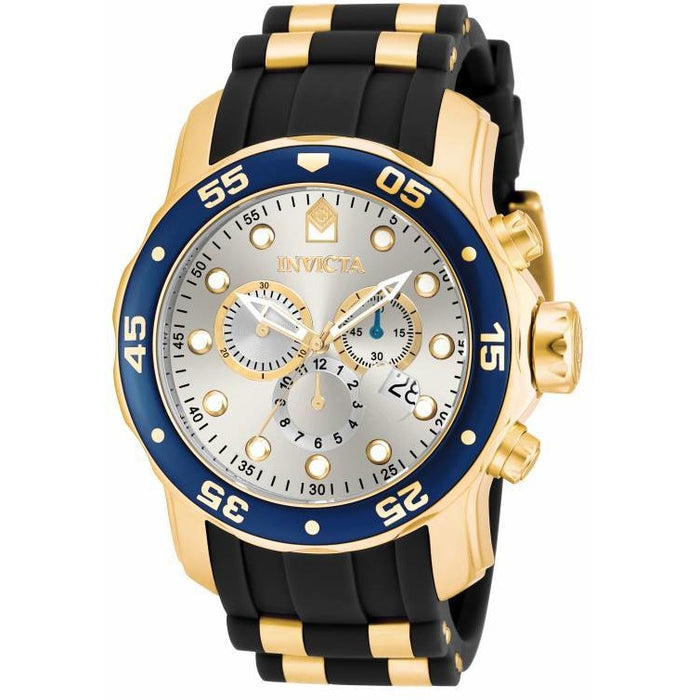Invicta Men's 17880 Pro Diver Quartz Multifunction Silver Dial Watch