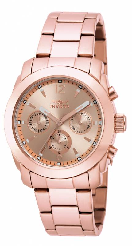Invicta  Women's 17902 Angel Quartz Chronograph Rose Gold Dial Watch