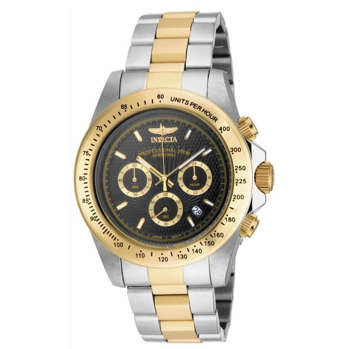 Invicta Men's 18393 Speedway Quartz Chronograph Black Dial Watch