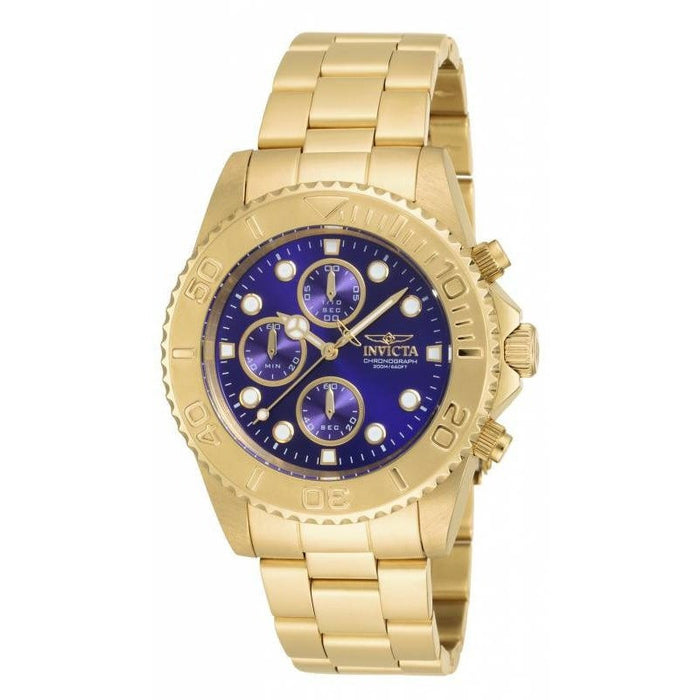 Invicta Men's 19157 Pro Diver Quartz Multifunction Blue Dial Watch