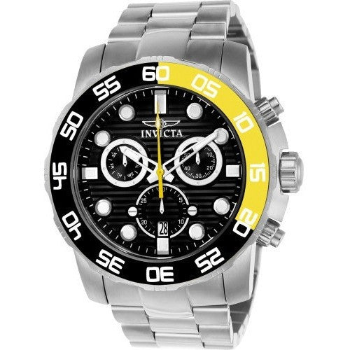Invicta Men's 21553 Pro Diver Quartz Chronograph Black Dial Watch