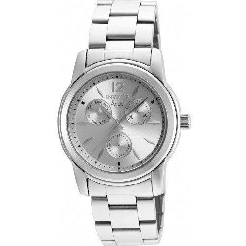 Invicta Women's 21690 Angel Quartz Chronograph Silver Dial Watch