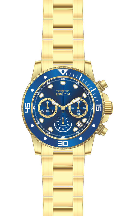 Invicta Men's 21894 Pro Diver Quartz Chronograph Blue Dial Watch