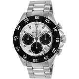 Invicta Men's 22392 Speedway Quartz Chronograph Silver, Black Dial Watch