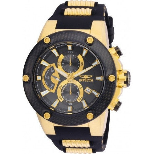 Invicta Men's 22401 Speedway Quartz Multifunction Black Dial Watch