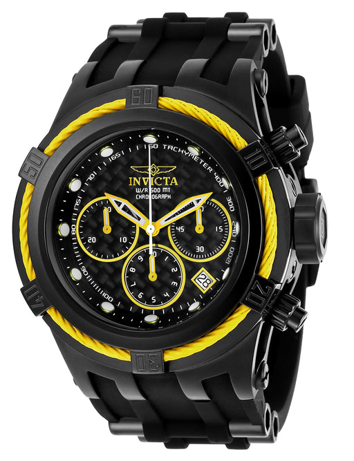Invicta Men's 22451 Bolt Quartz Chronograph Black Dial Watch