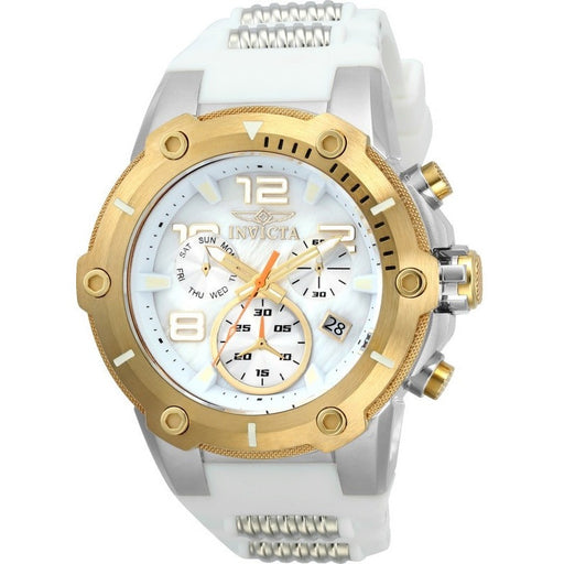 Invicta Men's 22512 Speedway Quartz Chronograph White Dial Watch