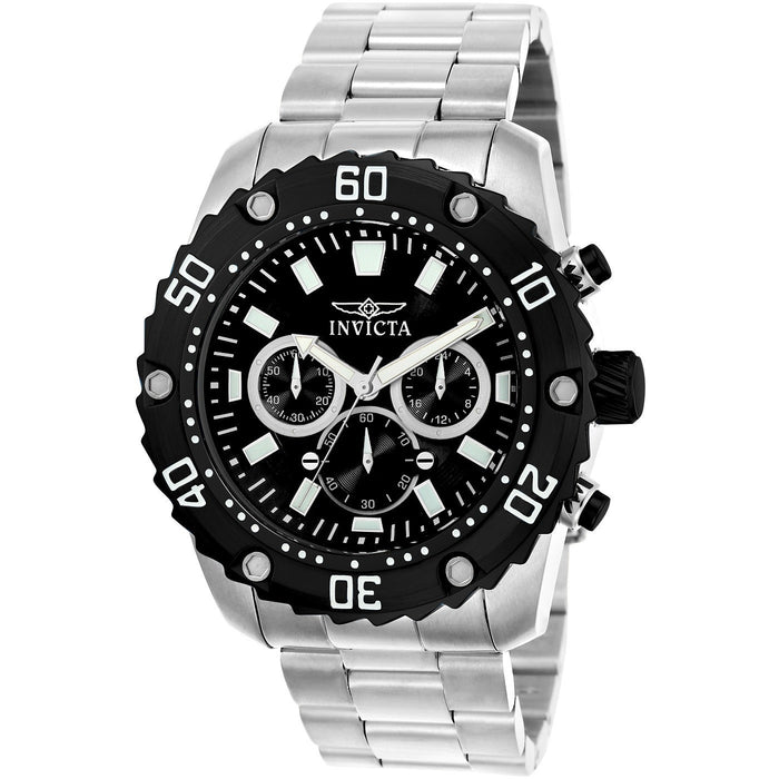 Invicta Men's 22516 Pro Diver Quartz Chronograph Black Dial Watch