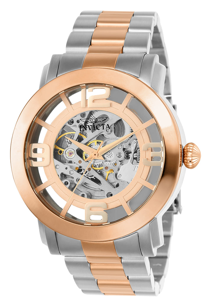 Invicta Men's 22584 Vintage Automatic 3 Hand Rose Gold Dial Watch