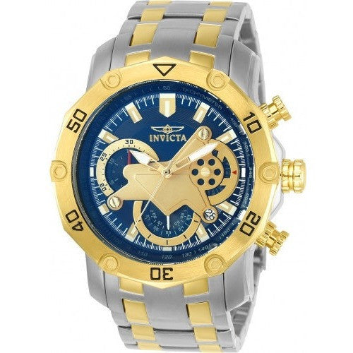 Invicta Men's 22762 Pro Diver Quartz Multifunction Blue Dial Watch