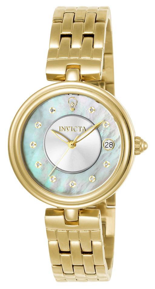 Invicta  Women's 22962 Gabrielle Union Quartz 3 Hand White Dial Watch