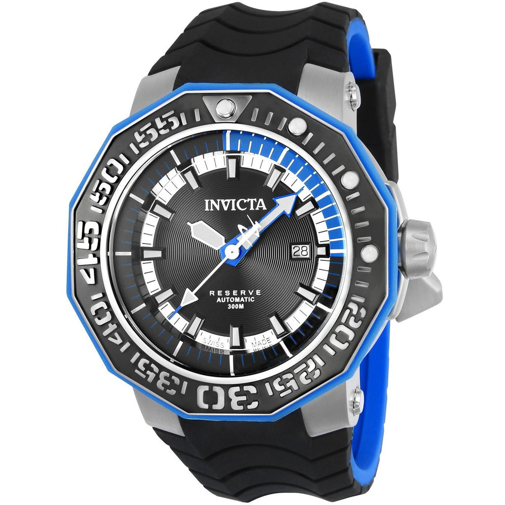 Invicta Men's 23029 Reserve Automatic 3 Hand Black Dial Watch