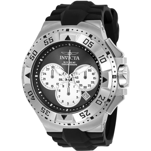 Invicta Men's 23039 Excursion Quartz Chronograph Black, Silver Dial Watch