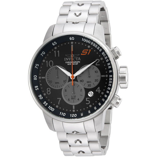 Invicta Men's 23084 S1 Rally Quartz Chronograph Black Dial Watch