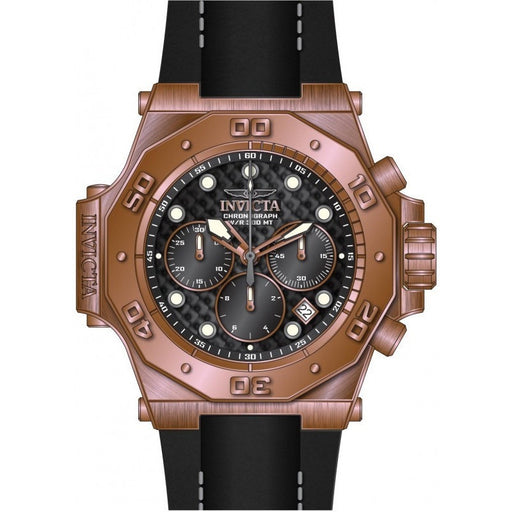 Invicta Men's 23104 Akula Quartz Chronograph Black Dial Watch