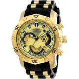 Invicta Men's 23427 Pro Diver Quartz Multifunction Gold Dial Watch