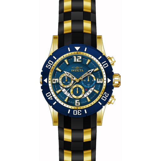 Invicta Men's 23704 Pro Diver Quartz Chronograph Blue Dial Watch