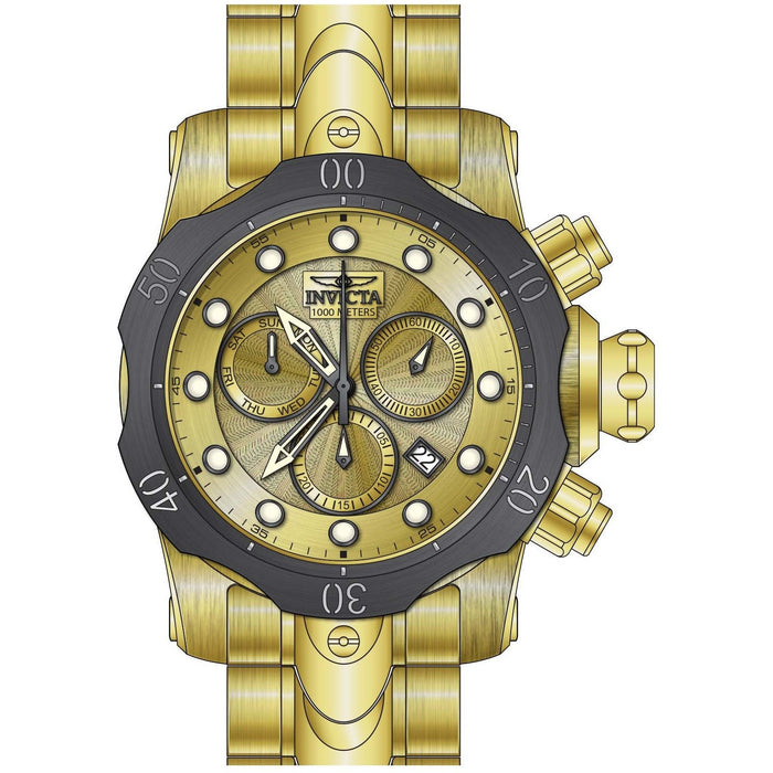 Invicta Men's 23894 Venom Quartz Chronograph Gold Dial Watch