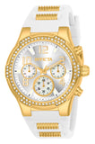 Invicta Women's 24199 BLU Quartz Chronograph Silver Dial Watch