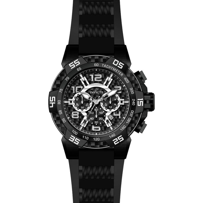 Invicta Men's 24236 Speedway Quartz Multifunction Black Dial Watch