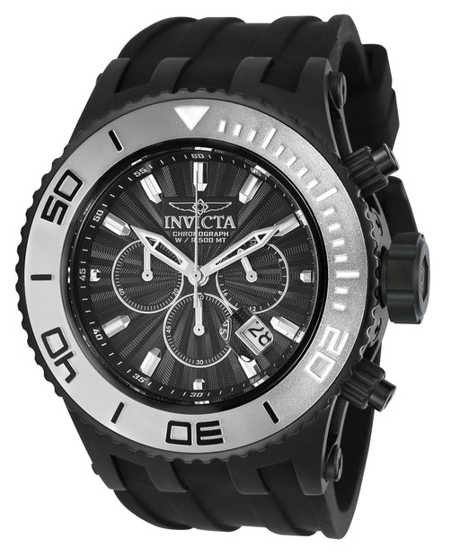 Invicta Men's 24254 Subaqua Quartz Chronograph Black Dial Watch