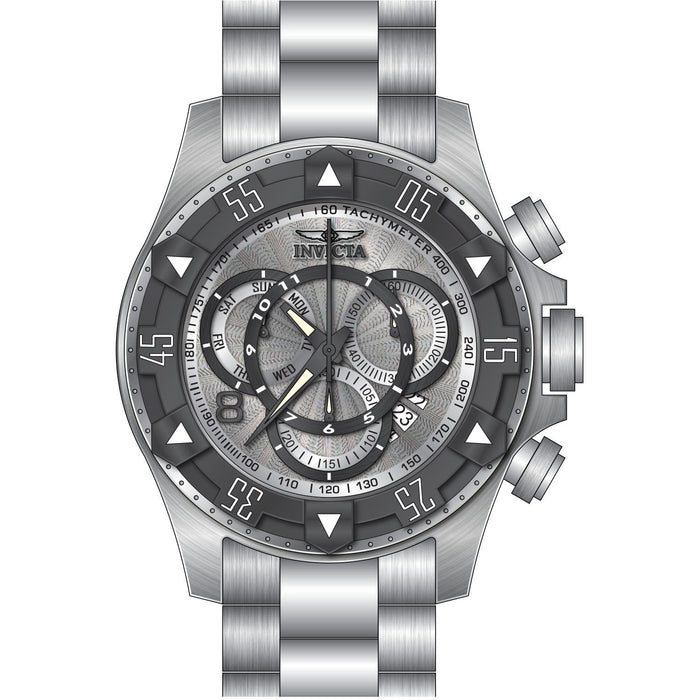 Invicta Men's 24262 Excursion Quartz Multifunction Silver Dial Watch
