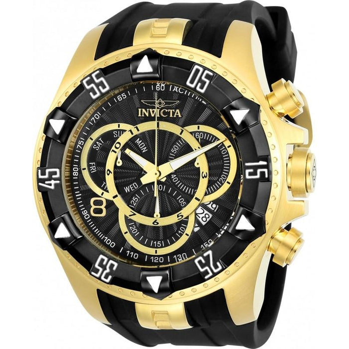 Invicta Men's 24275 Excursion Quartz Multifunction Black Dial Watch