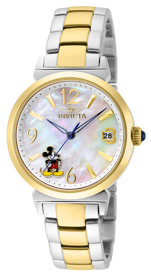 Invicta Women's 24774 Disney  Quartz 3 Hand White Dial Watch