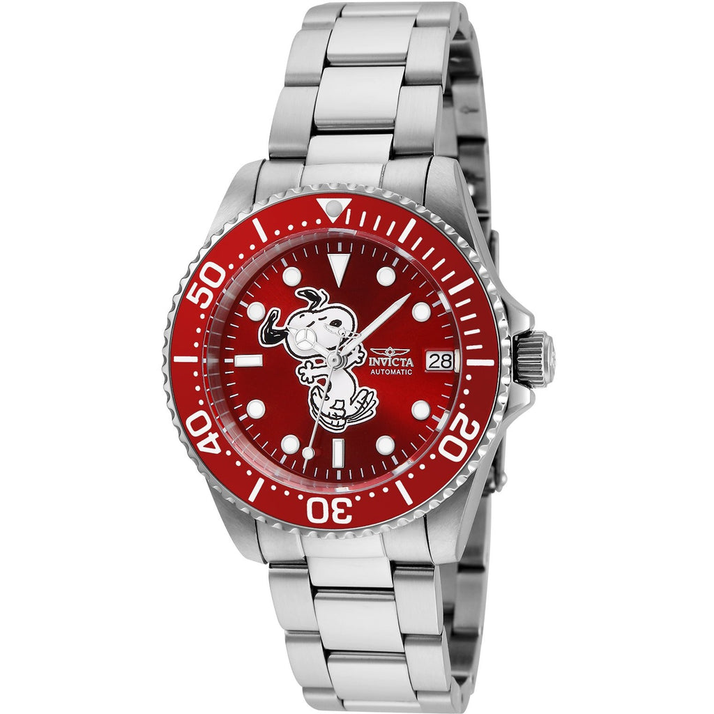 Invicta Women's 24792 Character  Automatic 3 Hand Red Dial Watch