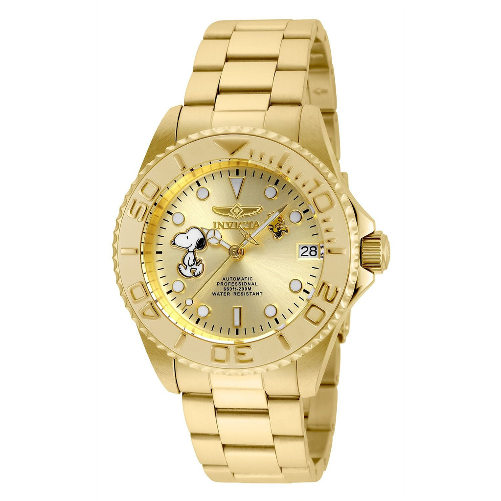 Invicta Women's 24795 Character Automatic 3 Hand Champagne Dial Watch