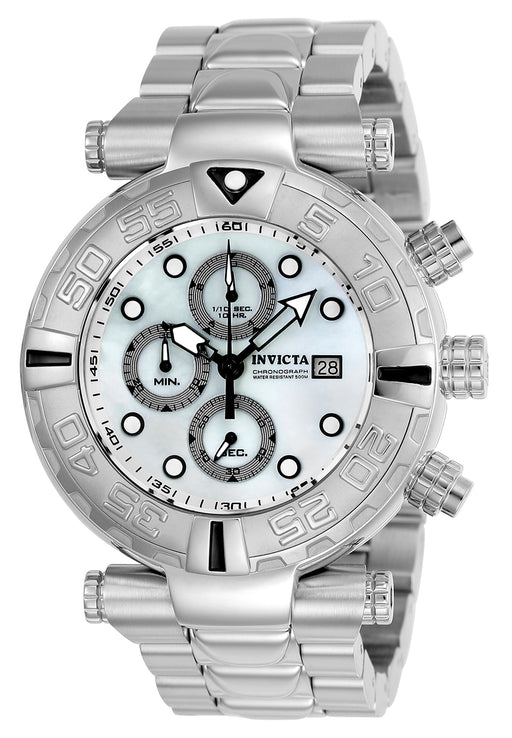 Invicta Men's 24982 Subaqua Quartz Chronograph White Dial Watch