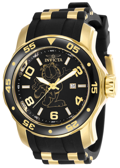Invicta Men's 25157 Character  Quartz 3 Hand Black Dial Watch