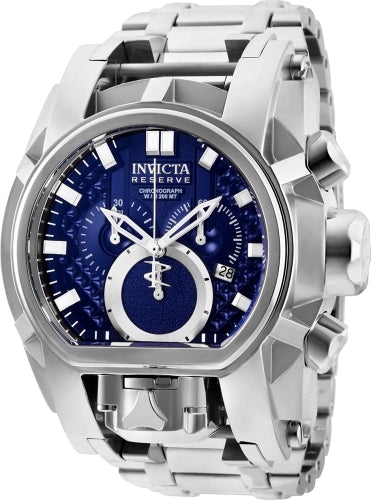 Invicta Men's 25207 Reserve Quartz Chronograph Blue Dial Watch