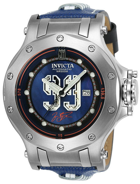 Invicta Men's 25321 Jason Taylor Automatic 3 Hand Dark Blue Dial Watch