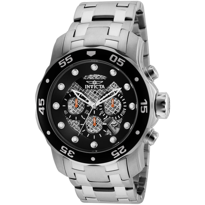 Invicta Men's 25331 Pro Diver Quartz Chronograph Black Dial Watch