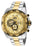 Invicta Men's 25537 Speedway Quartz Multifunction Gold Dial Watch