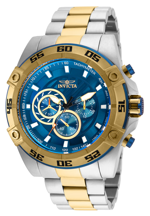 Invicta Men's 25538 Speedway Quartz Multifunction Blue Dial Watch