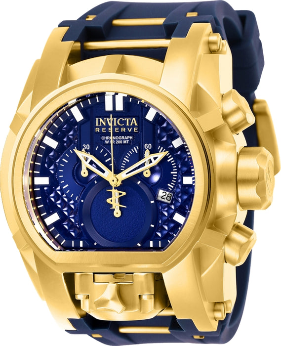 Invicta Men's 25608 Reserve Quartz Multifunction Blue Dial Watch