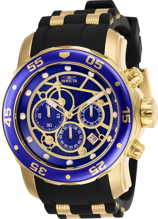 Invicta Men's 25707 Pro Diver Quartz Multifunction Blue Dial Watch