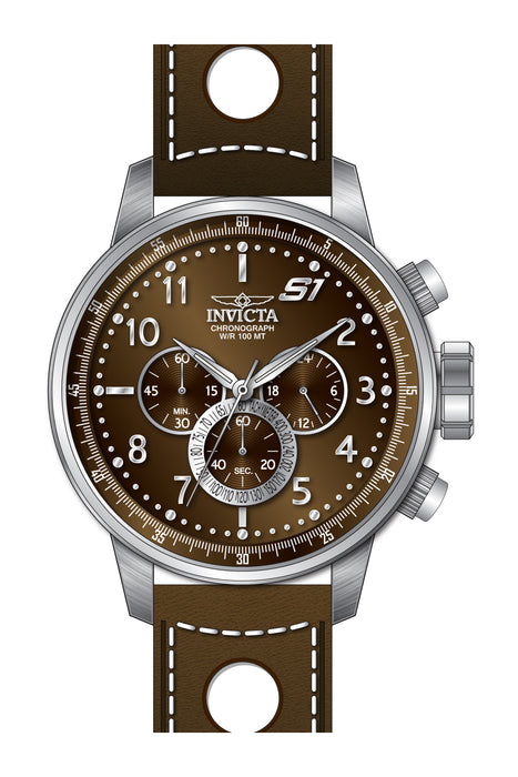 Invicta Men's 25726 S1 Rally Quartz Chronograph Brown Dial Watch